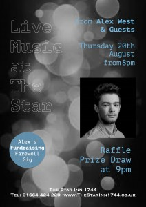 Music Night at The Star Aug 20
