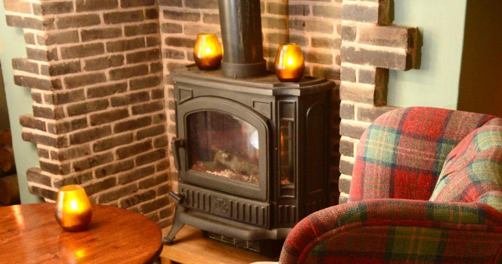 The Star Inn Wood Burner
