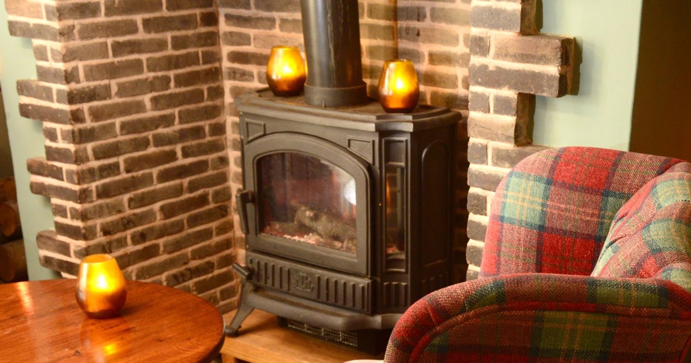 The Star Inn Wood Burner