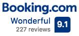 Booking.com 9.1 Rating